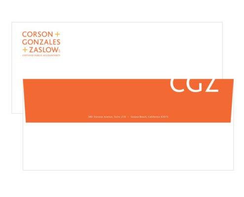 CORSON + GONZALES + ZASLOW